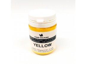 Prášková barva do čokolády Food Colours Yellow (20 g)