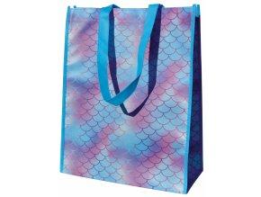 Alvarak nákupní taška Mořská víla textura