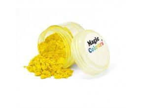 Jedlá prachová perleťová barva Magic Colours (8 ml) Yellow Light