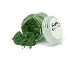 Jedlá prachová perleťová barva Magic Colours (8 ml) Mystic Forest