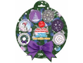 Alvarak papírové košíčky na pralinky Vánoční sada č. 4 (150 ks)