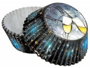 Alvarak košíčky na muffiny Silvestr (50 ks)