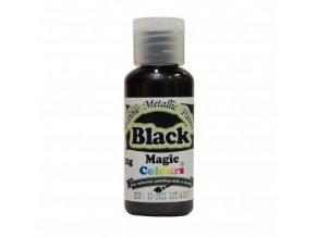 Tekutá metalická barva Magic Colours (32 g) Black