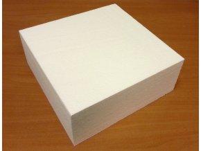 Polystyrenová maketa čtverec 30 x 30 x 10 cm