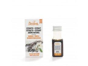 Vanilkový extrakt 20ml - Decora
