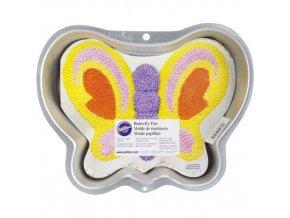 Wilton dortová forma Motýl