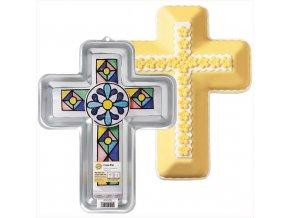 Wilton dortová forma Kříž