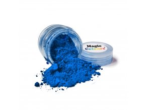 Jedlá prachová barva Magic Colours (8 ml) Indigo Blue