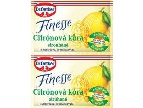 Dr. Oetker Finesse citronová kůra strouhaná (2x6 g)