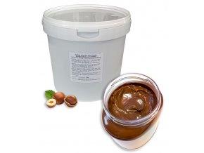 Krém lískooříškový Nutkao gianduia (termostabilní) 1 kg/kbelík