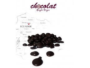Kakaová hmota Ecuador 100% (pecky) 1 kg/sáček
