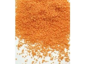Aromatizovaný cukrový posyp (oranžový, pomeranč) 110 g/dóza