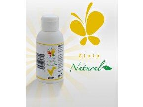 Barva tekutá Natural Line přírodní (žlutá)  100 ml/lahvička
