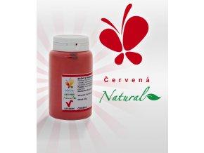 Barva v prášku Natural Lipo přírodní AF (červená)  25 g/kelímek