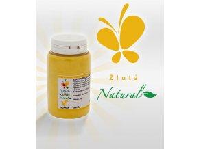 Barva v prášku Natural Lipo přírodní AF (žlutá)  25 g/kelímek