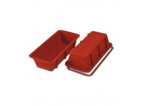 Forma silikonová pekáč (Plum cake) 26x10, v.7cm