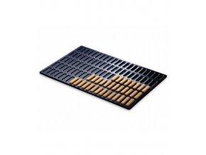 Plech na pečení modrý kov 6/10 (42 savoiardi) 60x40cm