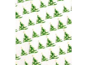 Transfer fólie (vánoční stromeček) 1 ks/37x27cm