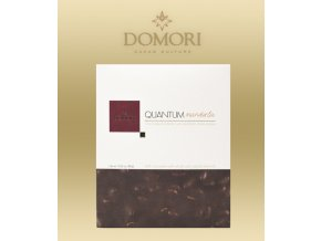 Čokoláda Domori Quantum 68% Almonds (mandlová) tabulka 500g