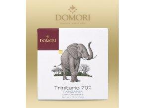 Čokoláda Domori Tanzania Morogoro 70% 50g tabulka