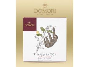 Čokoláda Domori Venezuela Sur del Lago 70% 50g tabulka