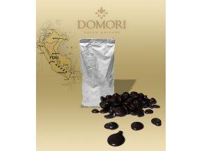 Čokoláda Domori APURIMAC Perú 72% hořká (pecky) 1 kg/sáček alu