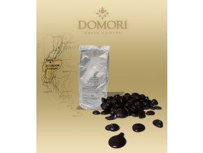 Čokoláda Domori ARRIBA Ecuador 56% hořká (pecky)  1 kg/sáček alu