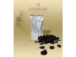 Čokoláda Domori ARRIBA Ecuador 72% hořká (pecky) 1 kg/sáček alu