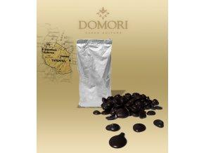 Čokoláda Domori MOROGORO Tanzania 56% hořká (pecky) 1 kg/sáček alu