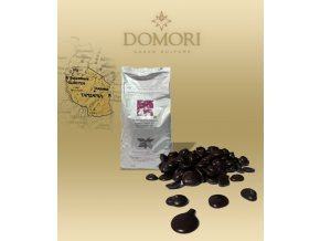 Čokoláda Domori MOROGORO Tanzania 68% hořká (pecky) 1 kg/sáček alu