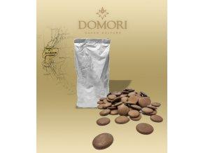 Čokoláda Domori ARRIBA Ecuador 36% mléčná (pecky) 1 kg/sáček alu