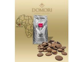 Čokoláda Domori Pobřeží slonoviny 38% mléčná (pecky) 5 kg/pytel
