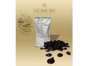 Kakaová hmota Domori MOROGORO Tanzania 100% (pecky) 1 kg/sáček alu