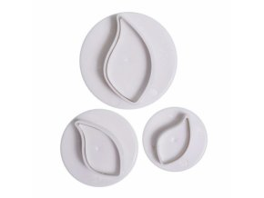 curved leaf plunger cutter 3pc