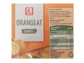 Kandované ovoce pomeranč 100g - Ostatní