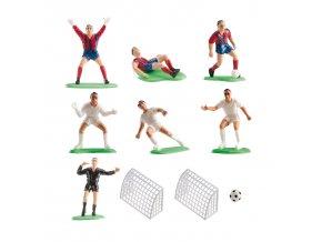 Figurky na dort - fotbalové hřiště - Dekora