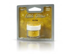RD Edible Glitter - Yellow - žluté 5g