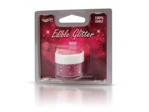RD Edible Glitter - Rose - růžové 5g