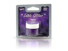 RD Edible Glitter - Purple  - fialové   5g