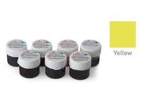Gelová barva žlutá 15g - Silikomart