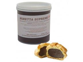 Krém hotový Supreme čokoládovooříškový (palm free) 1 kg/kbelík