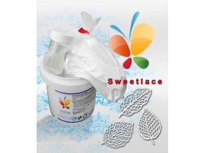 Sladká krajka Sweet lace AF (bílá) 200 g/sada