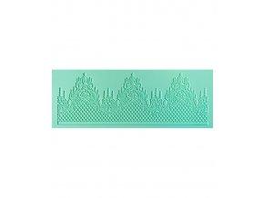 Podložka silikonová (krajka dekor 1x pás) 13,5x36,8cm