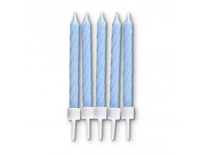 staedter geburtstagskerzen 75cm blau