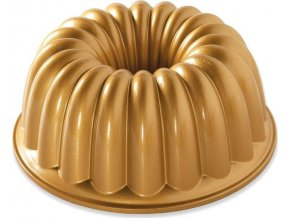 NW Bábovka Elegant 10cup zlatá 58677 Nordic Ware