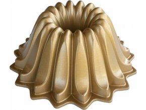 NW Bábovka Lotus 5cup zlatá 84177 Nordic Ware