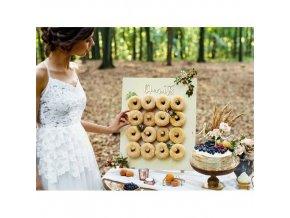 Stojan na donuty 45x55cm