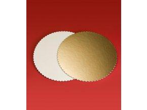 6845 podlozka dortova lem 2000 prum 26cm zlata 10 kg cca 92ks bal