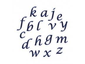 fmm alphabet tappits lower case script