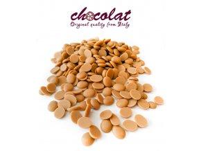 Čokoláda Gold extra s karamelem 35% (pecky) 12 kg/karton